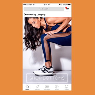 Unbound Commerce - Ecommerce Developer - FitMama App Homepage