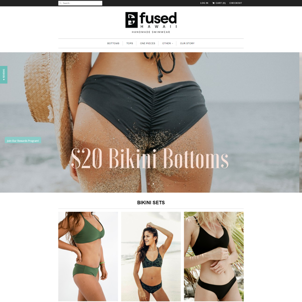 Fused Hawaii Handmade Swimwear
