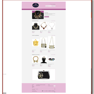 This Shopify store owner adds class and prestige to her line of products that are dropshipped.