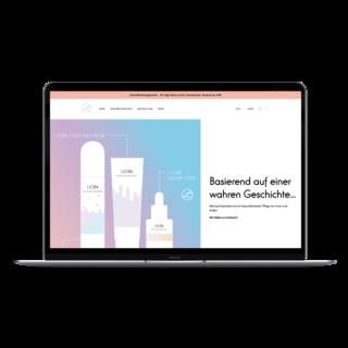 Das Frankfurter Startup Lioba stellt seine einzigartigen Produkte perfekt dar.