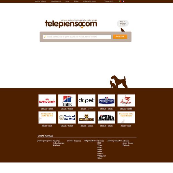 telepienso.com - Pienso para perros y gatos