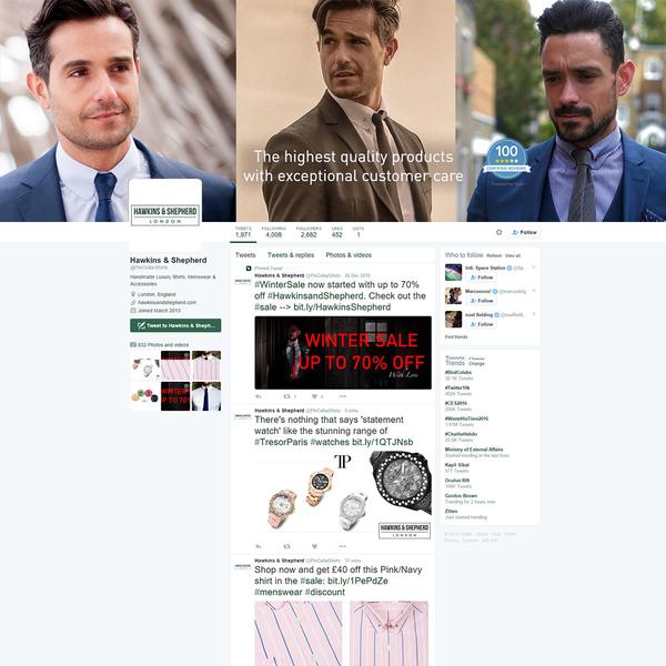 Hawkins & Shepherd Twitter Campaign