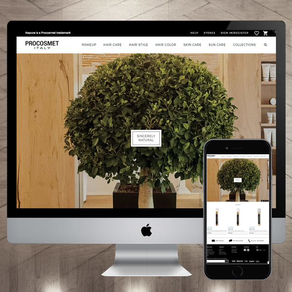 Website design and development for Cosmetic Manufacturers