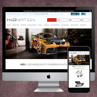 Design and Development for Auto Accessory store, search by make, brand and model