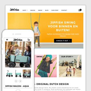 Redesign Jipfish.nl
