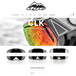 DYE Snow | Boutique Snowboarding Goggles