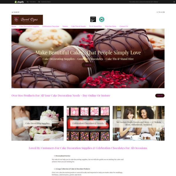 Sweet Cynz Cake Decoration & Chocolate