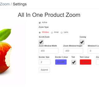 All in One Product Zoom