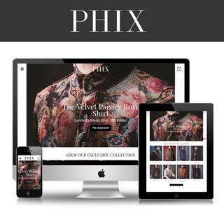 www.phixclothing.com
