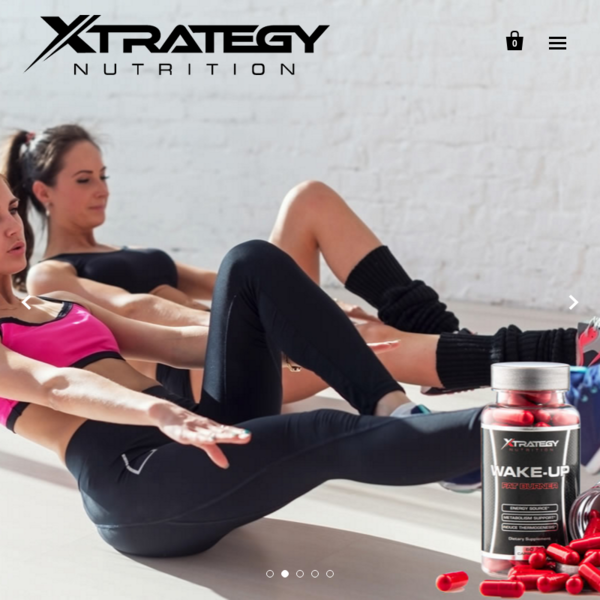 Xtrategy Nutrition - Supplement Company E-Commerce