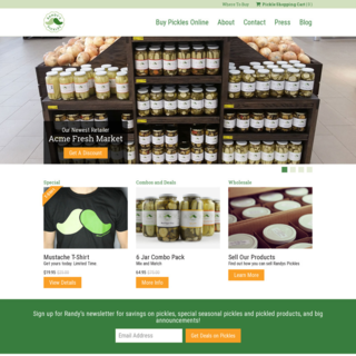 CompanyEgg - Ecommerce Marketer - Randy's Pickles