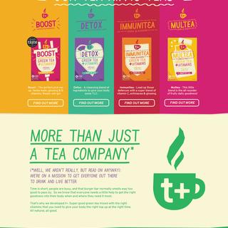 T+ Smarter Tea