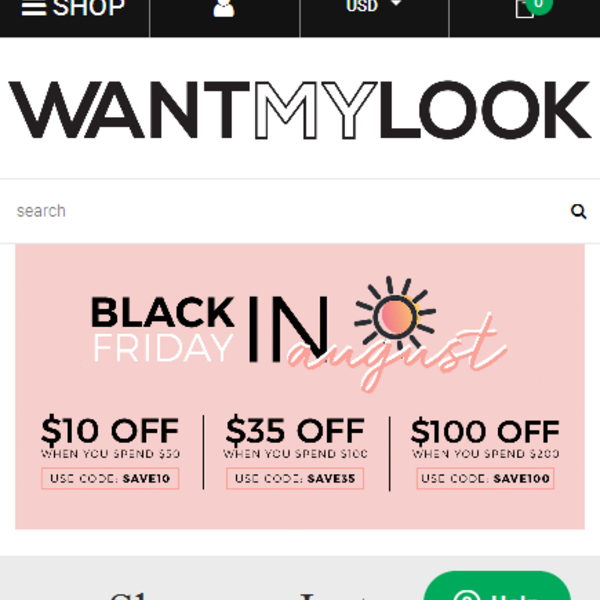 WANT MY LOOK:https://www.wantmylook.com/
