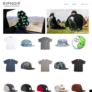 RIPNDIP Clothing - Home