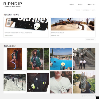 RIPNDIP Clothing - Media