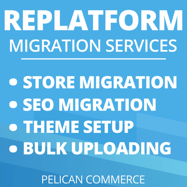 Shopify Replatforming Services