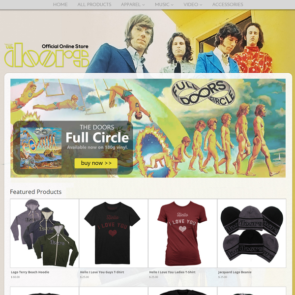 The Doors Official Online Store