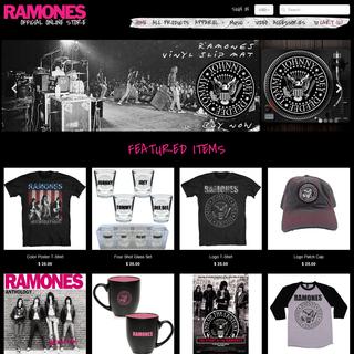 Ramones Official Online Store