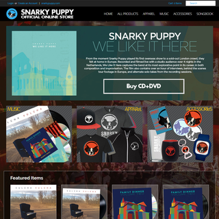 Snarky Puppy Official Online Store