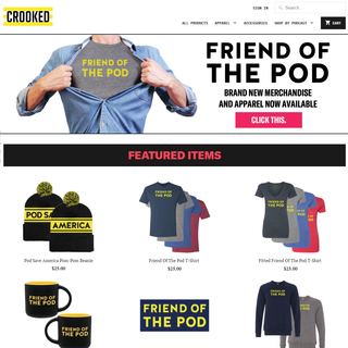 Crooked Media Official Online Store