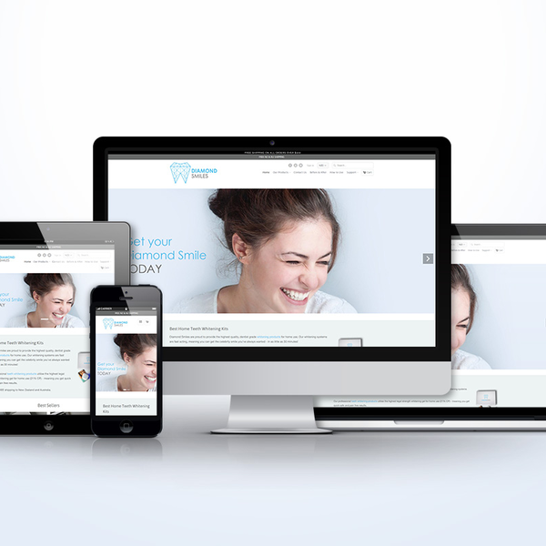 Diamond Smiles Website Setup