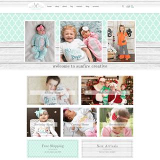 Sunfire Creative Boutique Shopify Design