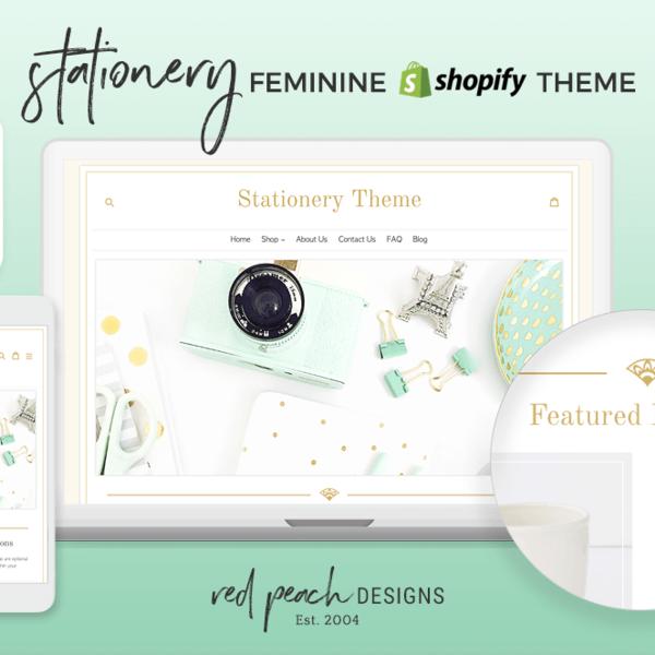 Stationery Shopify Theme