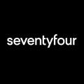 Seventyfour Design's logo