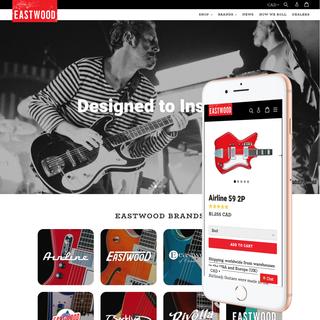 eastwoodguitars - eastwoodguitars.com