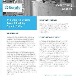 eCommerce Hardware Store SEO Case Study