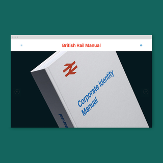 British Rail Manual