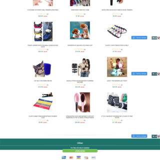 giftstan Shopify store designing, Theme development from scratch
