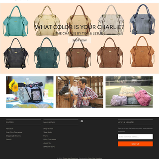 Diaperbagemporium shopify store designing and development.
