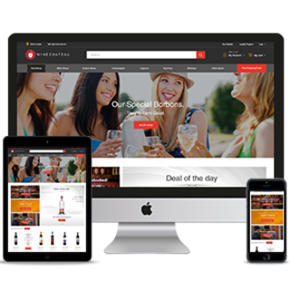 Winechateau.com - Professional Ecommerce Website Designs