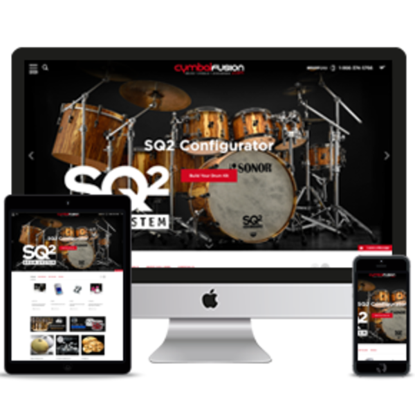 Drums & Music Instruments Store, Professional Ecommerce Website Designs