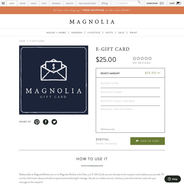 Shopify Gift Card with Extra Functionality