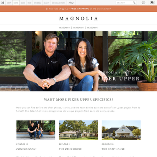 From the frontpage of Magnolia Homes from HGTV's Fixer Upper