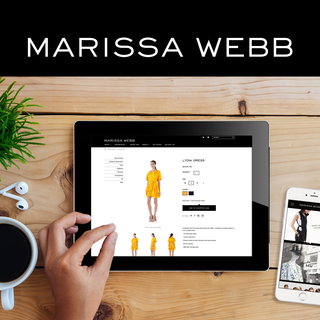 Marissa Webb (Banana Republic's Creative Director) Namesake Label - Shopify E-Commerce Store