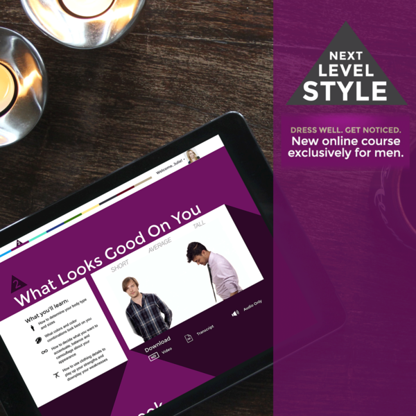 NextLevelStyle.com - Custom Online Learning Subscription Platform