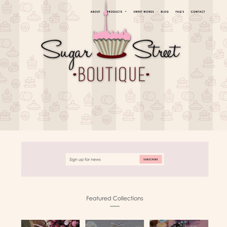 Sugar Street Boutique by Mariana Morales