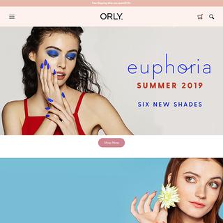 https://orlybeauty.com -Shopify Custom design development