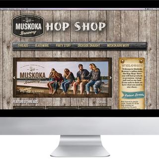 Muskoka Brewery's Hop Shop