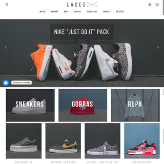 Tienda de Sneakers con integración con Lightspeed  de inventario y ordenes