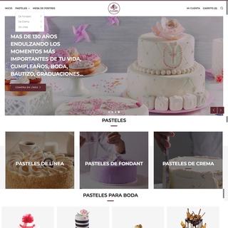 Tienda pasteles personalizado El Globo de Grupo Bimbo.   Integración completa a ERP
