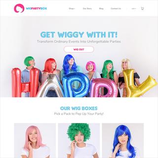 Wig Party Box