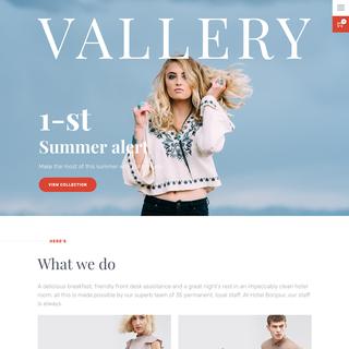 Designifyer - Ecommerce Designer / Setup Expert - Vallery Shopify Theme