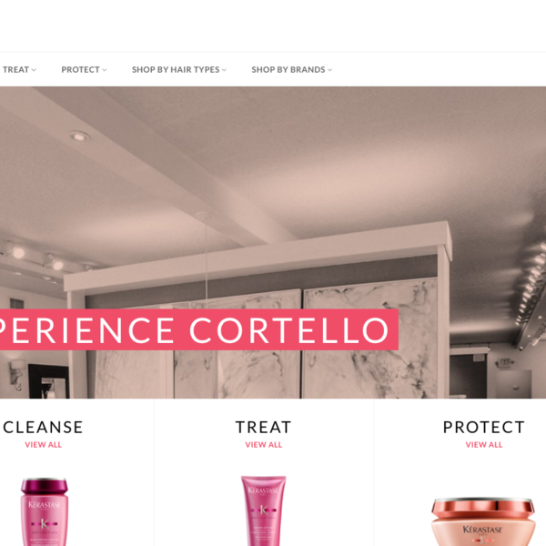 Cortello Salon - https://shop.cortello.com