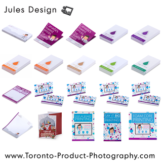 Toronto Paper Product Commercial Photographer