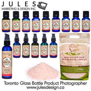 Toronto Glass Bottle Cosmetics Product Photography Studio
