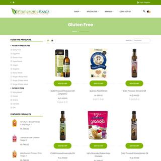 www.wholesomefoods.lk